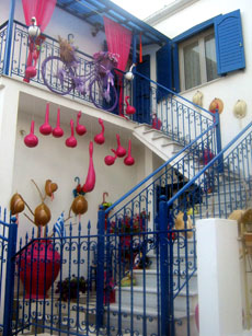 Holiday and carnival in Panagia